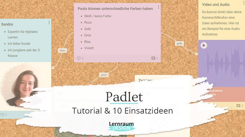Eine digitale Pinnwand mit Padlet erstellen