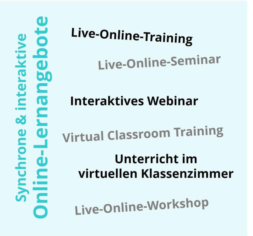 Alternative Bezeichnung für Online-Seminar