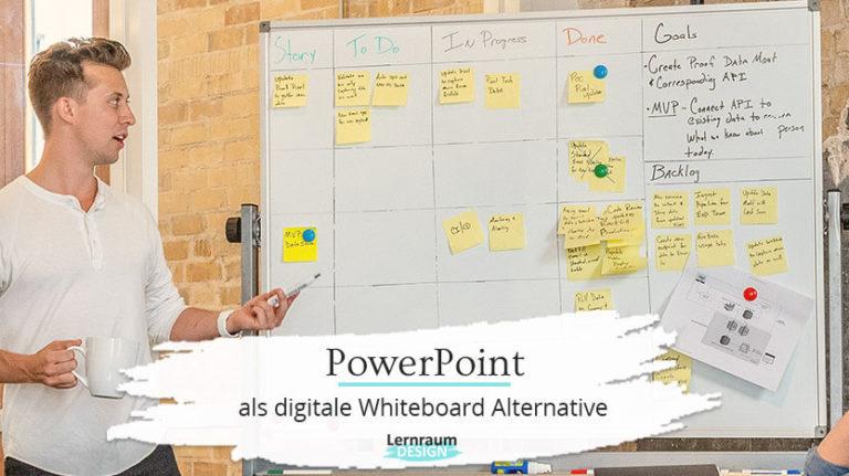 PowerPoint als Whiteboard Alternative