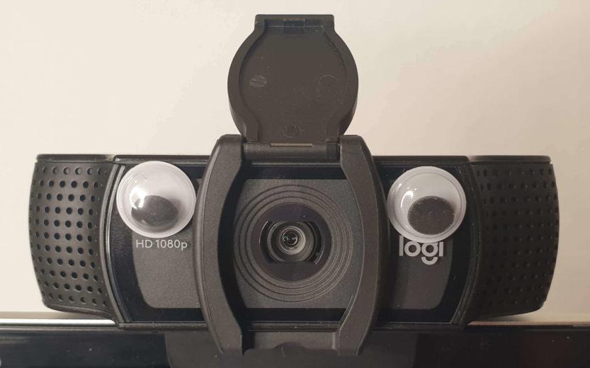 Webcam, um Videos mit Zoom aufzunehmen