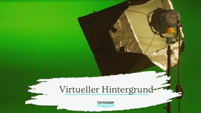 Virtueller Hintergrund im Live-Online-Training