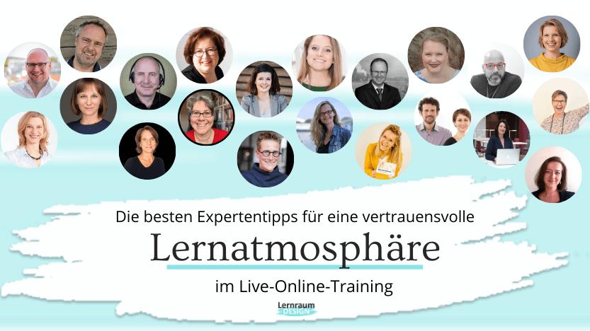 So gelingt eine vertrauensvolle Lernatmosphäre im Live-Online-Training