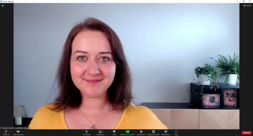 Online-Seminare gestalten: Begrüßung