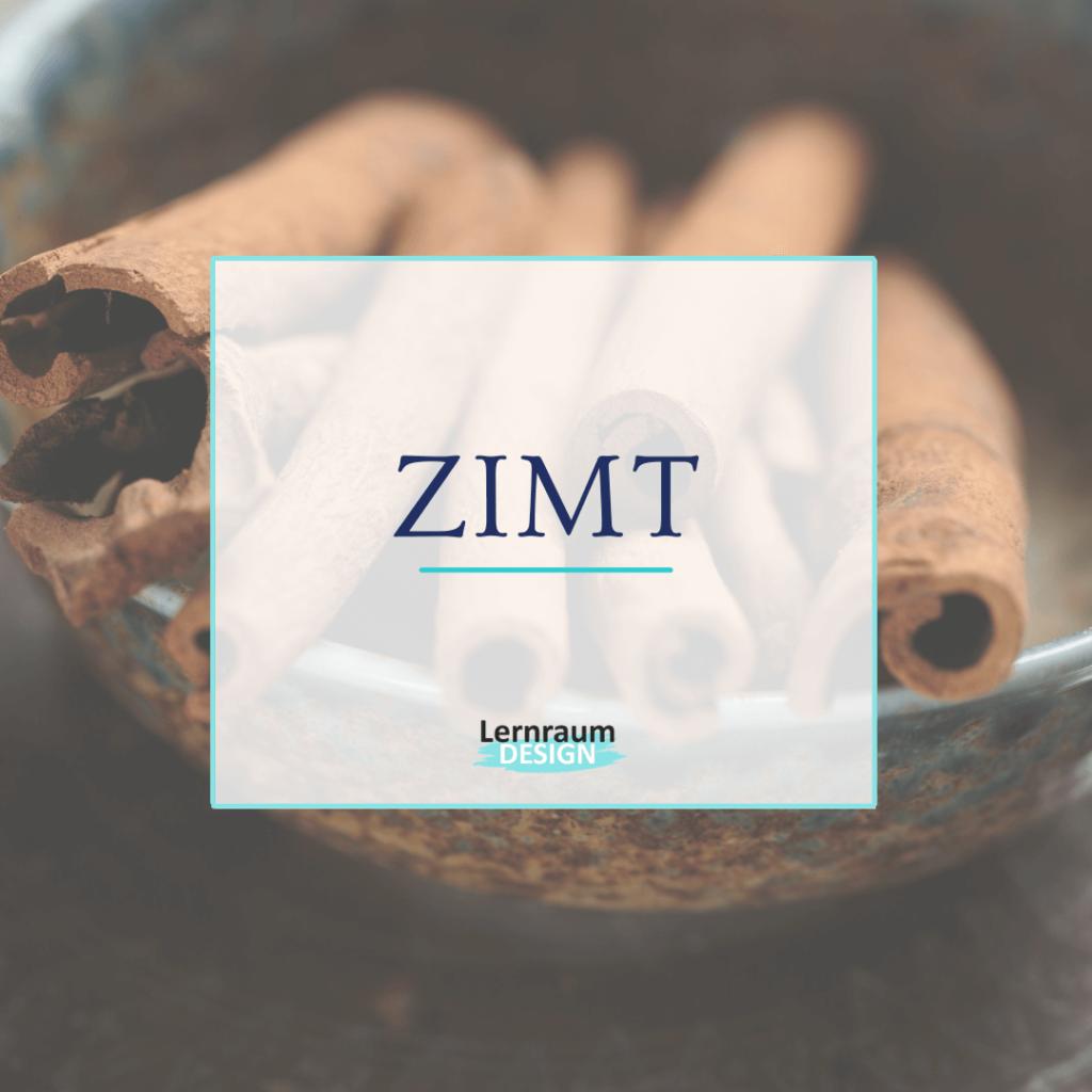 Online Seminare gestalten - Merkwort ZIMT