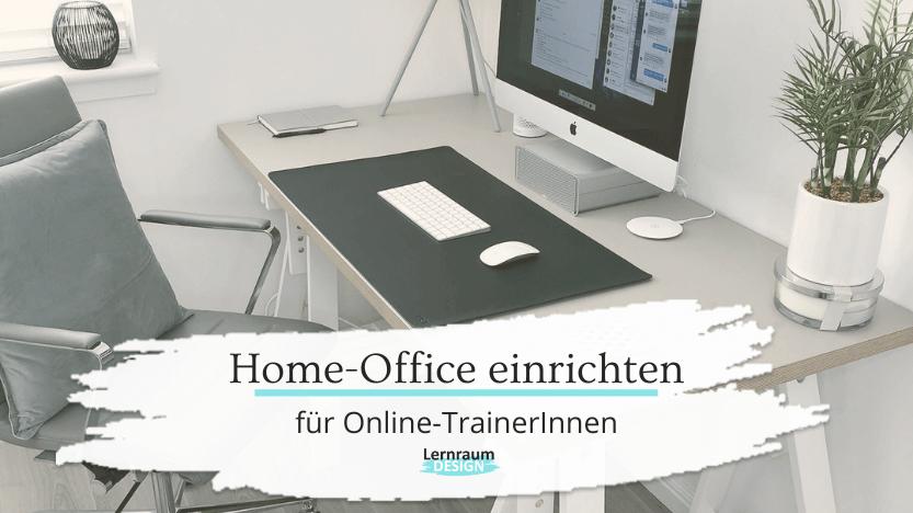 Read more about the article Ein gesundes Home-Office einrichten – 4 Quicktipps für Online-TrainerInnen